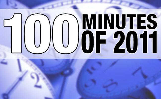 100 Minutes of 2011 Header