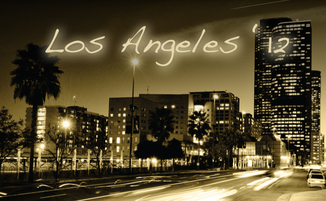 Los Angeles '12 Tracklist Header